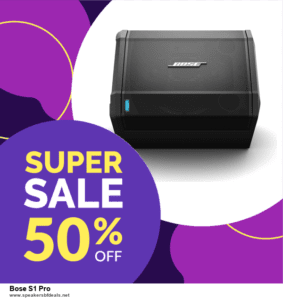 5 Best Bose S1 Pro After Christmas Deals Deals [Up to 30% Discount] | 2020