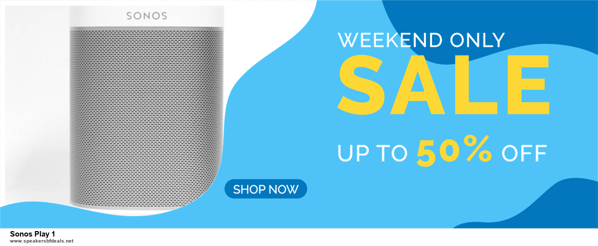 5 Best Sonos Play 1 Black Friday Deals [Up to 30% Discount] | 2020