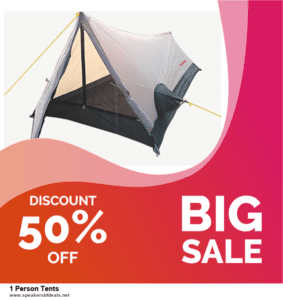 13 Best Black Friday and Cyber Monday 2020 1 Person Tents Deals [Up to 50% OFF]