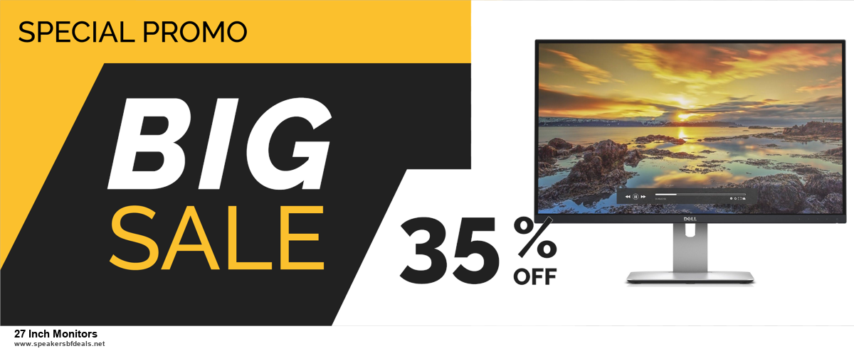 Grab 10 Best Black Friday and Cyber Monday 27 Inch Monitors Deals & Sales