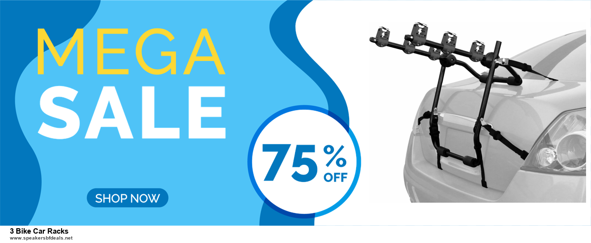 9 Best Black Friday and Cyber Monday 3 Bike Car Racks Deals 2020 [Up to 40% OFF]