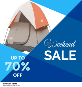Top 5 After Christmas Deals 3 Person Tents Deals 2020 Buy Now