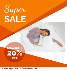 Top 5 After Christmas Deals 3 Super Saver Pillow For Back Sleepers Free Deals 2020 Buy Now