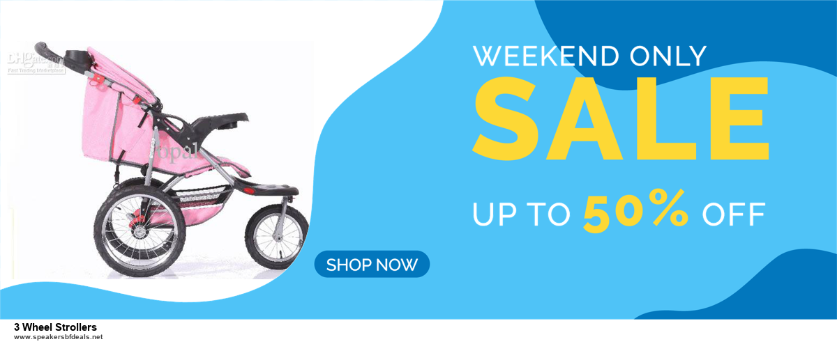 13 Best Black Friday and Cyber Monday 2020 3 Wheel Strollers Deals [Up to 50% OFF]