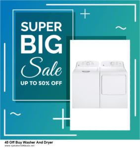 Top 5 After Christmas Deals 45 Off Buy Washer And Dryer Deals [Grab Now]