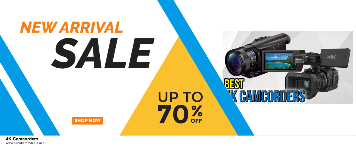 Top 11 Black Friday and Cyber Monday 4K Camcorders 2020 Deals Massive Discount