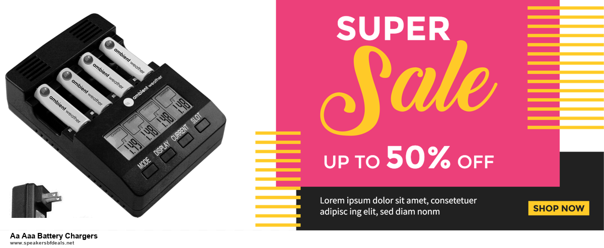 13 Exclusive Black Friday and Cyber Monday Aa Aaa Battery Chargers Deals 2020
