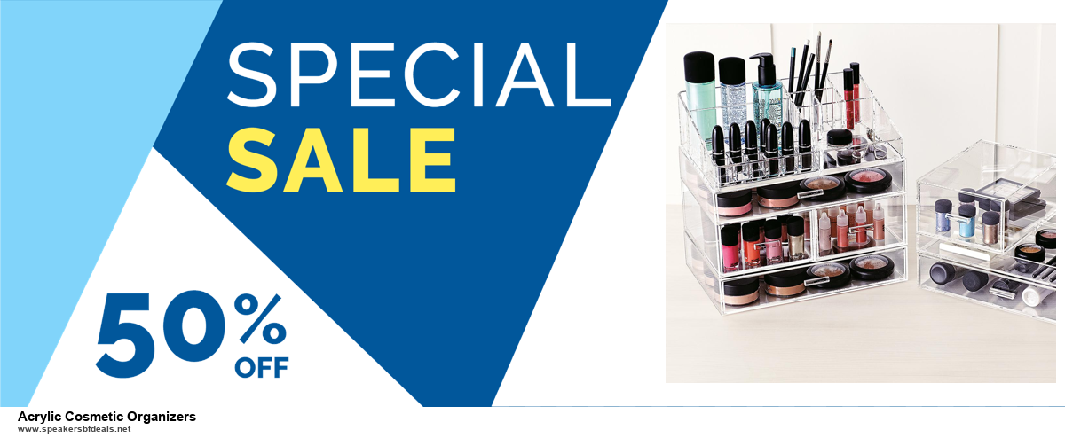 Top 5 Black Friday 2020 and Cyber Monday Acrylic Cosmetic Organizers Deals [Grab Now]
