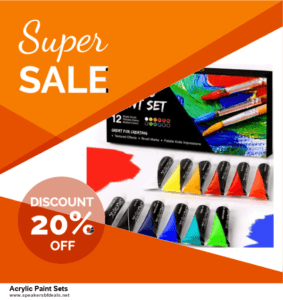 10 Best Acrylic Paint Sets After Christmas Deals Discount Coupons