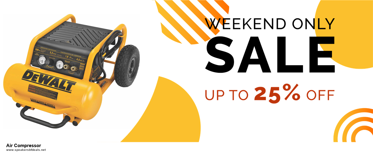 13 Best Black Friday and Cyber Monday 2020 Air Compressor Deals [Up to 50% OFF]