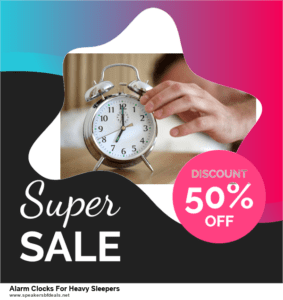 13 Best After Christmas Deals 2020 Alarm Clocks For Heavy Sleepers Deals [Up to 50% OFF]