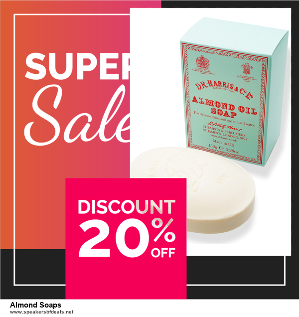 9 Best Black Friday and Cyber Monday Almond Soaps Deals 2020 [Up to 40% OFF]