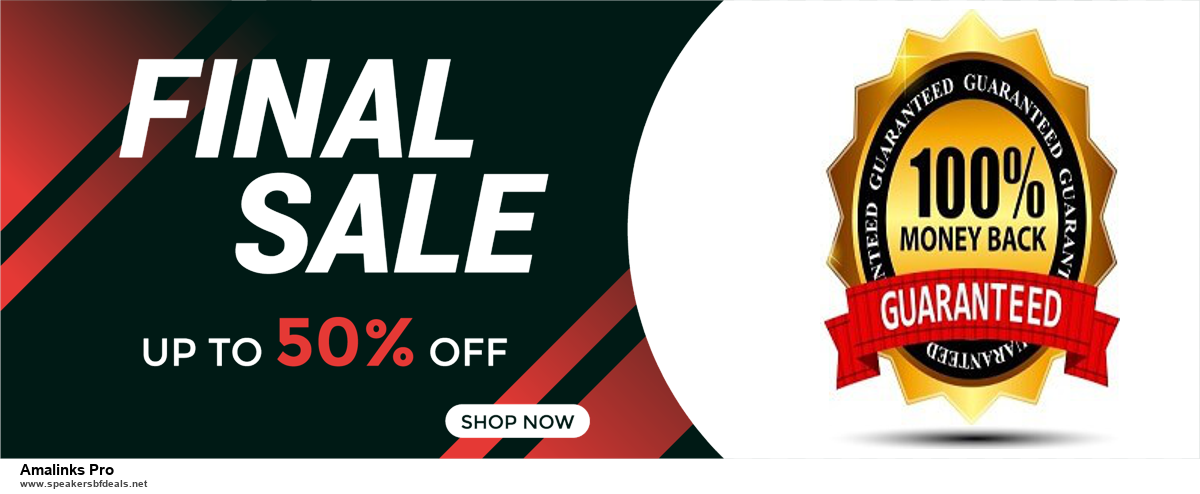 10 Best Black Friday 2020 and Cyber Monday Amalinks Pro Deals | 40% OFF