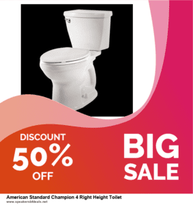 9 Best After Christmas Deals American Standard Champion 4 Right Height Toilet Deals 2020 [Up to 40% OFF]