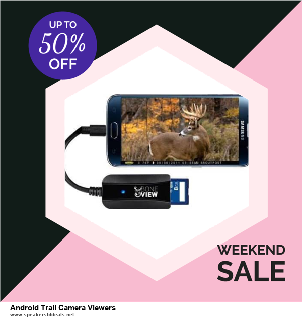 13 Best Black Friday and Cyber Monday 2020 Android Trail Camera Viewers Deals [Up to 50% OFF]