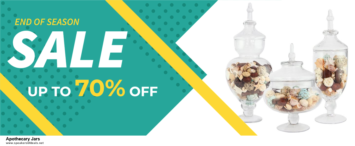 5 Best Apothecary Jars Black Friday 2020 and Cyber Monday Deals & Sales