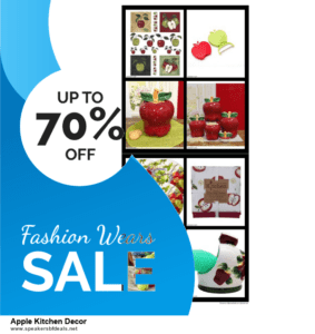 Top 5 Black Friday 2020 and Cyber Monday Apple Kitchen Decor Deals [Grab Now]