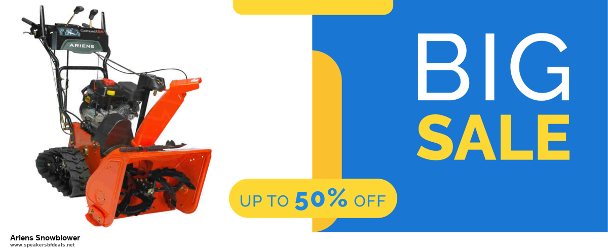 List of 10 Best Black Friday and Cyber Monday Ariens Snowblower Deals 2020