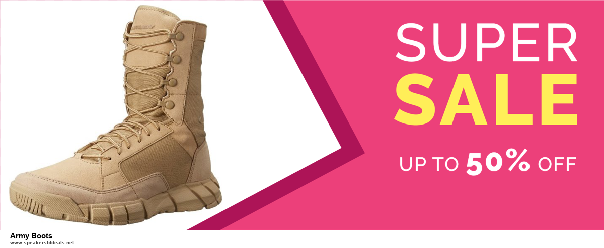 13 Best Black Friday and Cyber Monday 2020 Army Boots Deals [Up to 50% OFF]