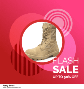13 Best After Christmas Deals 2020 Army Boots Deals [Up to 50% OFF]