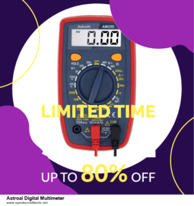 Grab 10 Best After Christmas Deals Astroai Digital Multimeter Deals & Sales