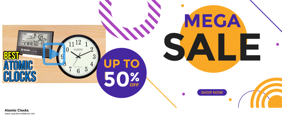 5 Best Atomic Clocks Black Friday 2020 and Cyber Monday Deals & Sales