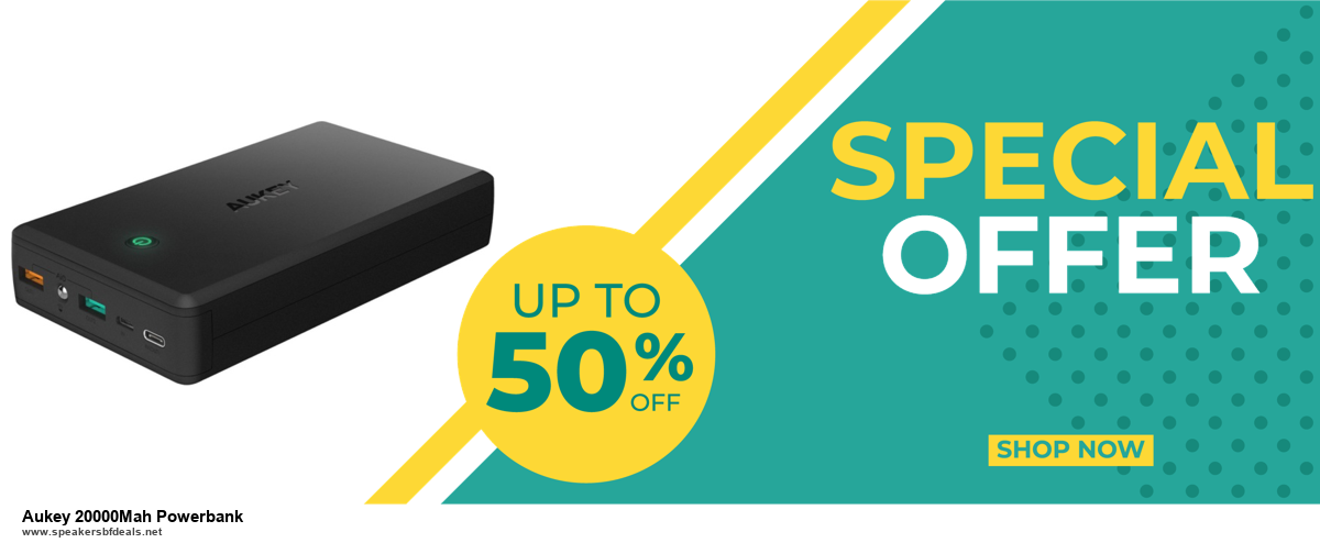 9 Best Aukey 20000Mah Powerbank Black Friday 2020 and Cyber Monday Deals Sales