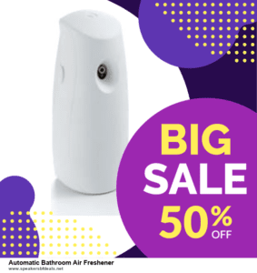 9 Best Automatic Bathroom Air Freshener Black Friday 2020 and Cyber Monday Deals Sales
