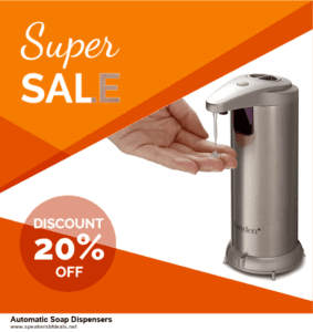 13 Exclusive After Christmas Deals Automatic Soap Dispensers Deals 2020