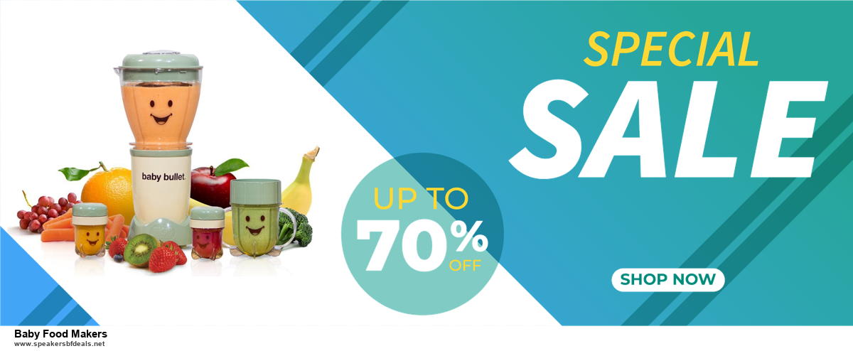 9 Best Baby Food Makers Black Friday 2020 and Cyber Monday Deals Sales