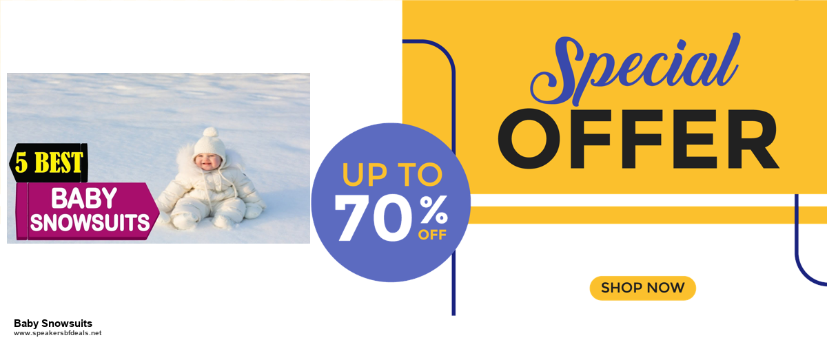 Top 5 Black Friday and Cyber Monday Baby Snowsuits Deals 2020 Buy Now