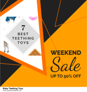 List of 6 Baby Teething Toys Black Friday 2020 and Cyber MondayDeals [Extra 50% Discount]