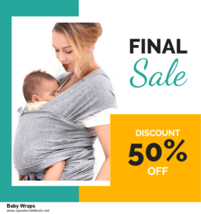 6 Best Baby Wraps Black Friday 2020 and Cyber Monday Deals | Huge Discount