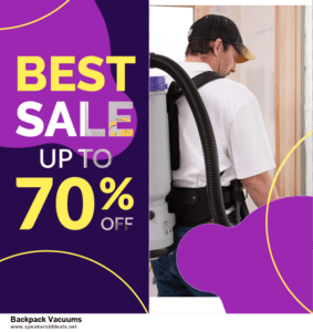 6 Best Backpack Vacuums Black Friday 2020 and Cyber Monday Deals | Huge Discount