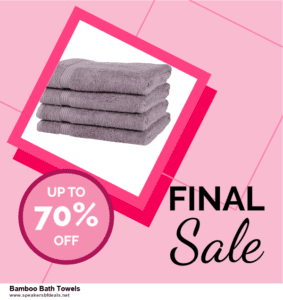 13 Exclusive Black Friday and Cyber Monday Bamboo Bath Towels Deals 2020