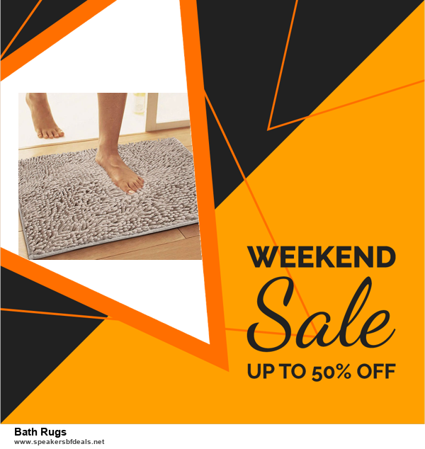 List of 6 Bath Rugs Black Friday 2020 and Cyber MondayDeals [Extra 50% Discount]