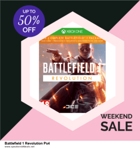 10 Best Battlefield 1 Revolution Ps4 Black Friday 2020 and Cyber Monday Deals Discount Coupons