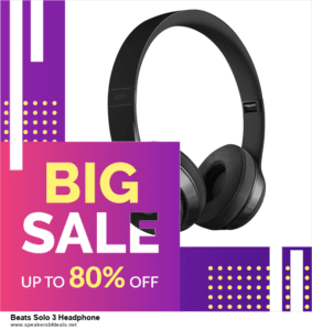 List of 6 Beats Solo 3 Headphone Black Friday 2020 and Cyber MondayDeals [Extra 50% Discount]
