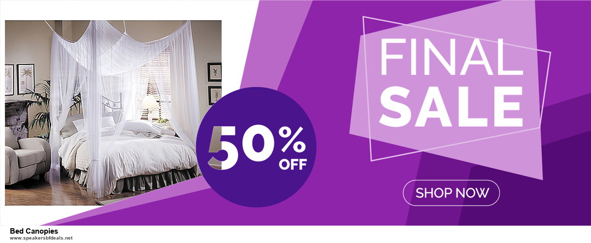 9 Best Black Friday and Cyber Monday Bed Canopies Deals 2020 [Up to 40% OFF]