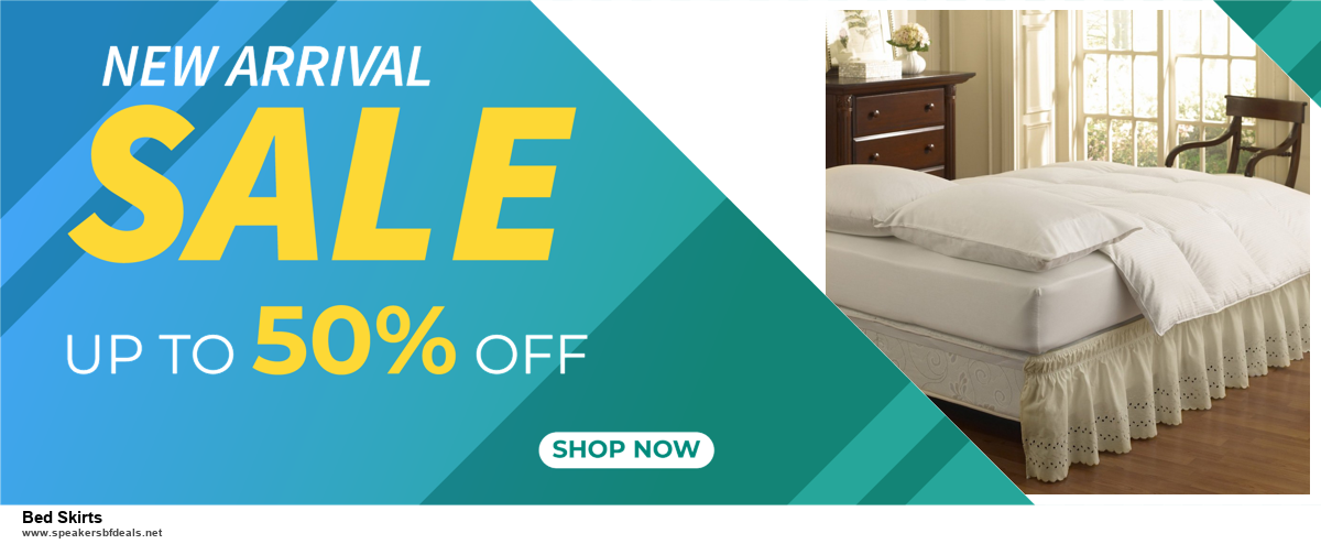 10 Best Bed Skirts Black Friday 2020 and Cyber Monday Deals Discount Coupons