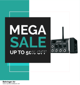 9 Best After Christmas Deals Behringer Air Deals 2020 [Up to 40% OFF]