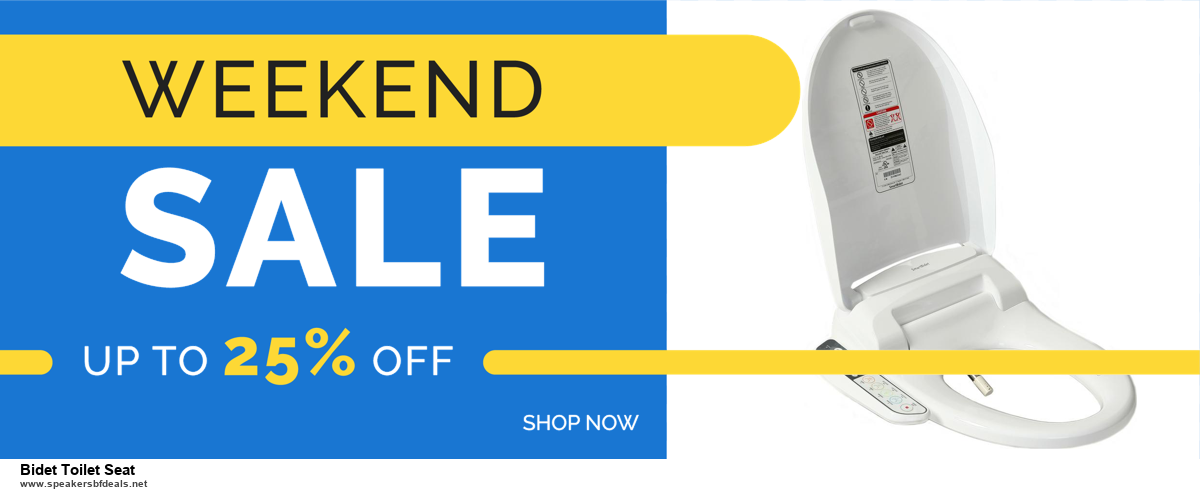 Top 5 Black Friday and Cyber Monday Bidet Toilet Seat Deals 2020 Buy Now