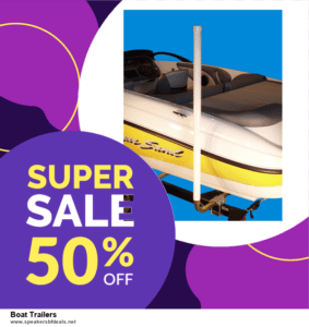 Top 10 Boat Trailers After Christmas Deals