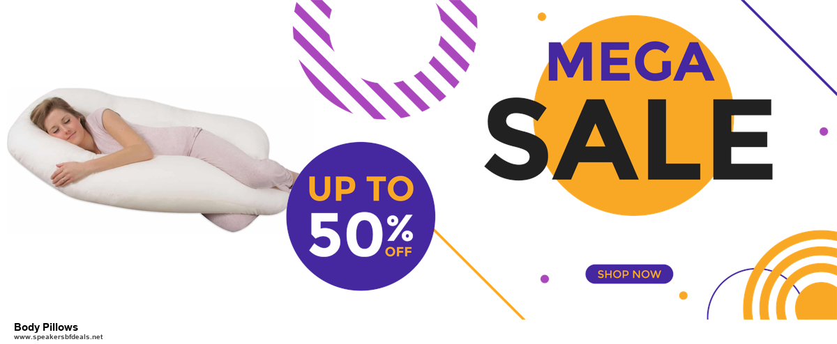 10 Best Black Friday 2020 and Cyber Monday Body Pillows Deals | 40% OFF