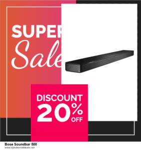 Top 5 Black Friday and Cyber Monday Bose Soundbar 500 Deals 2020 Buy Now