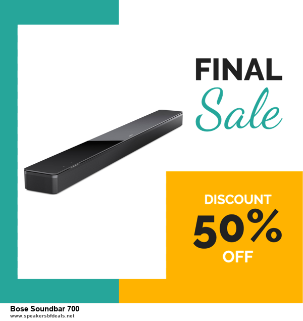 Grab 10 Best Black Friday and Cyber Monday Bose Soundbar 700 Deals & Sales