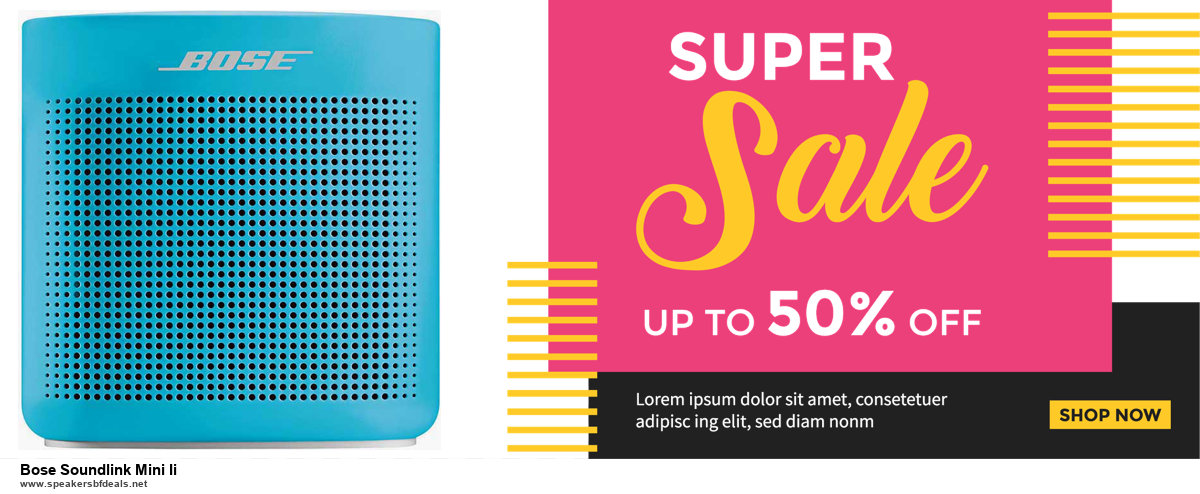 Top 5 Black Friday and Cyber Monday Bose Soundlink Mini Ii Deals 2020 Buy Now