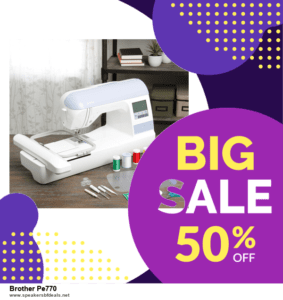 6 Best Brother Pe770 Black Friday 2020 and Cyber Monday Deals | Huge Discount
