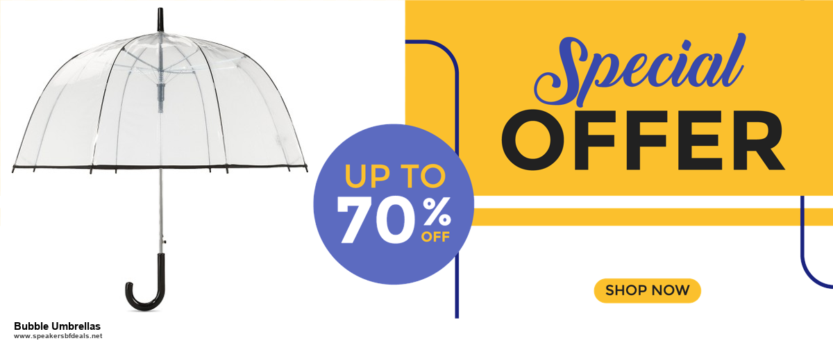 Grab 10 Best Black Friday and Cyber Monday Bubble Umbrellas Deals & Sales