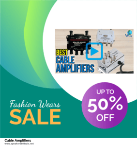 Grab 10 Best Black Friday and Cyber Monday Cable Amplifiers Deals & Sales